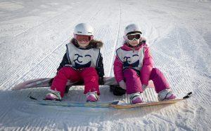 family snowboard holiday