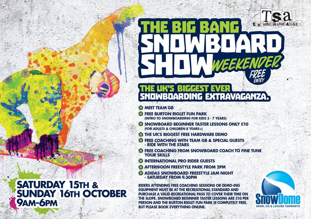 The Snowboard Asylum Big Bang 2016 Snowboard Show at Tamworth Snowdome with MINT Snowboarding