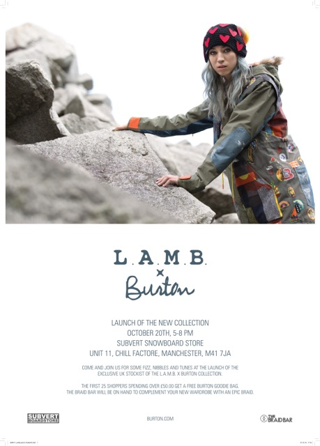 Burton LAMB colab uk